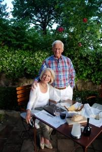 Dan with his wife, Ann